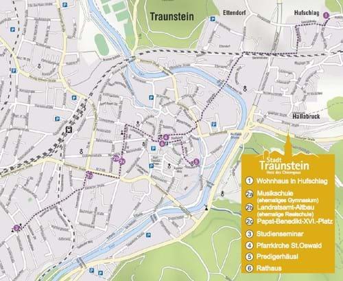 Wanderwege Deutschland Karte.Wandern Große Kreisstadt Traunstein